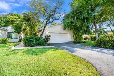 Boynton Beach Single Family Home For Sale: 5653 Ainsley Court