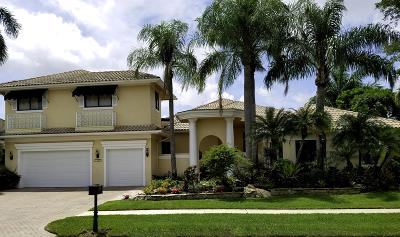 Boca Raton Single Family Home For Sale: 7257 Mandarin Drive