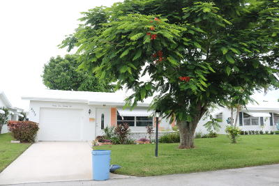 Boynton Beach Single Family Home For Sale: 2375 SW 8th Avenue