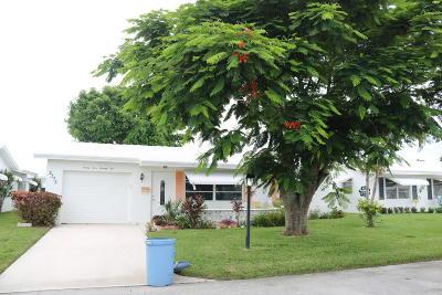 boynton beach Single Family Home For Sale: 2375 SW 8th Avenue