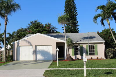 Lake Worth Single Family Home For Sale: 5186 Canal Circle S