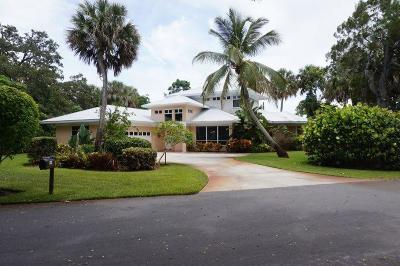 Stuart Single Family Home For Sale: 1514 SE Riverside Drive