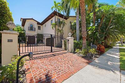 Palm Beach Townhouse For Sale: 444 Brazilian Avenue