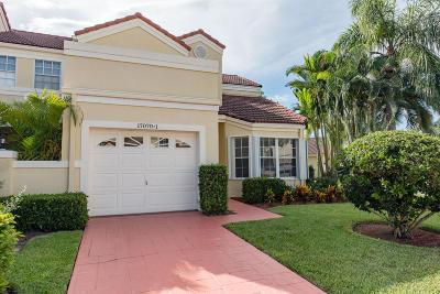 Boca Raton Townhouse For Sale: 17070 Boca Club Boulevard #1