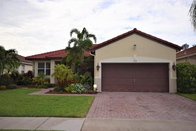 Boynton Beach Single Family Home For Sale: 1438 Artimino Lane