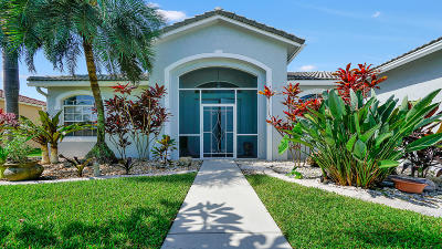 Lake Worth Single Family Home For Sale: 3860 Cypress Lake Drive