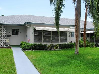 Delray Beach Single Family Home For Sale: 1092 North Drive #B