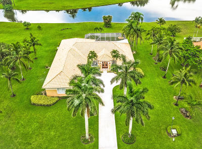Palm Beach Gardens Single Family Home Contingent: 7806 Woodsmuir Drive