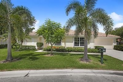 Palm Beach Gardens Single Family Home For Sale: 326 Eagleton Golf Drive