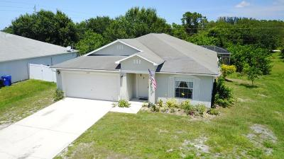 Indian River County Single Family Home Contingent: 8276 99th Avenue