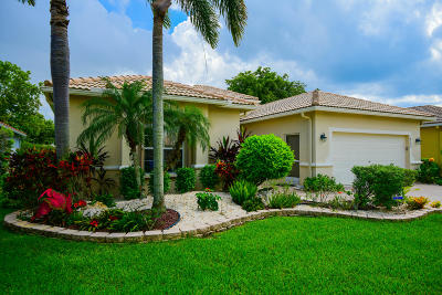 Boynton Beach Single Family Home For Sale: 8309 Grand Messina Circle
