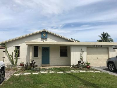 Boca Raton Single Family Home For Sale: 3422 Dixie Highway