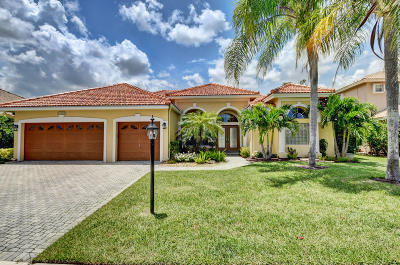 Boca Raton Single Family Home For Sale: 12409 Rockledge Circle