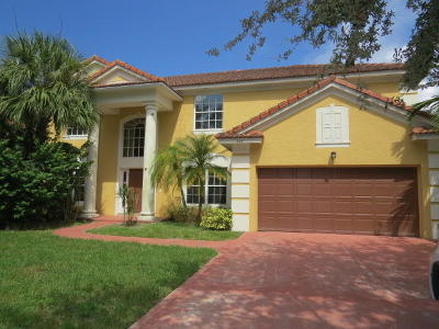 Jupiter Single Family Home For Sale: 222 Blackbird Lane