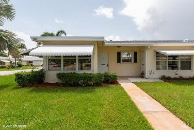 Boynton Beach Single Family Home For Sale: 3301 Loren Road #A