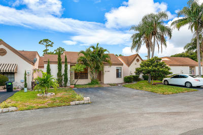 Palm Beach Gardens Single Family Home For Sale: 11249 Curry Drive