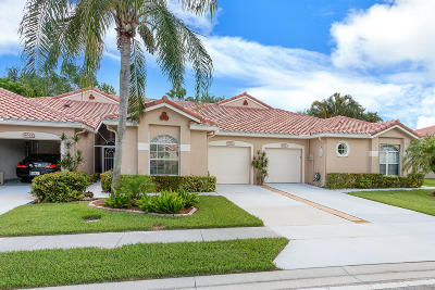 Boynton Beach Single Family Home For Sale: 8072 Key West Lane