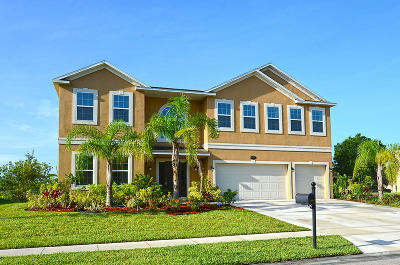 Indian River County Single Family Home For Sale: 4830 Ashley Lake Circle Circle