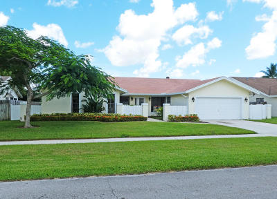 Boca Raton FL Single Family Home Contingent: $389,000
