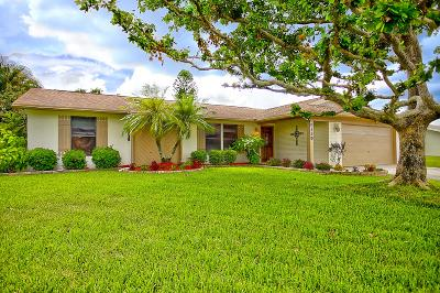 Boynton Beach Single Family Home Contingent: 8139 Rose Marie Avenue W