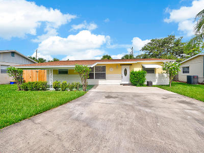 Jupiter Single Family Home For Sale: 410 Daly Drive
