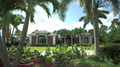 West Palm Beach Single Family Home For Sale: 12124 Temple Boulevard