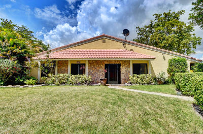 Boca Raton Single Family Home For Sale: 6765 Bridlewood Court