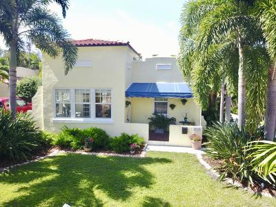 West Palm Beach Single Family Home For Sale: 813 Biscayne Drive