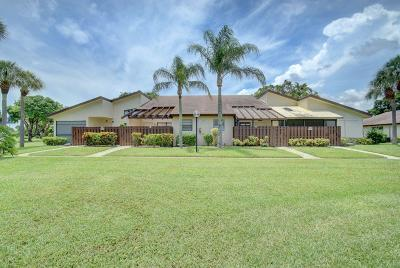 Delray Beach Single Family Home Contingent: 5130 Nesting Way #B