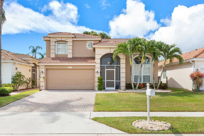 Boynton Beach Single Family Home For Sale: 6816 Camille Street