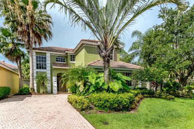 West Palm Beach Single Family Home For Sale: 8401 Heritage Club Drive