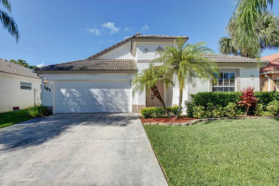 Royal Palm Beach Single Family Home For Sale: 121 Derby Lane