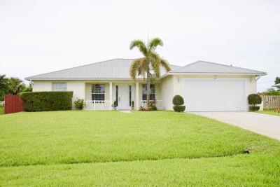 Port Saint Lucie Single Family Home For Sale: 644 SW Sandbar Terrace