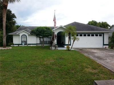Indian River County Single Family Home For Sale: 1660 Barber Street