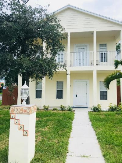 West Palm Beach Single Family Home For Sale: 1129 10th Street