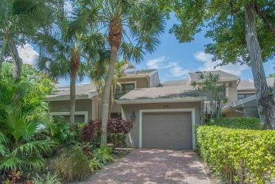 Boca Raton Townhouse For Sale: 6666 Thornhill Court #3