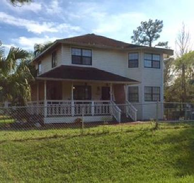 Fort Pierce Single Family Home For Sale: 8501 North Boulevard