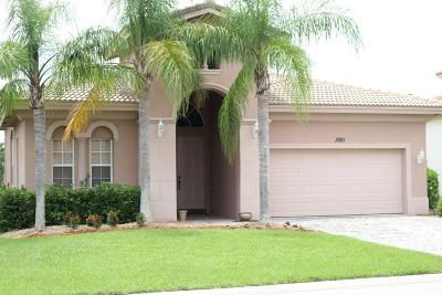 Vero Beach Single Family Home For Sale: 1981 Newmark Circle SW