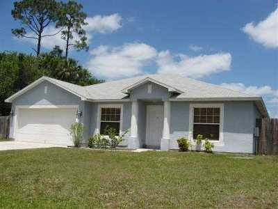 Port Saint Lucie Single Family Home For Sale: 1241 SW Crost Avenue