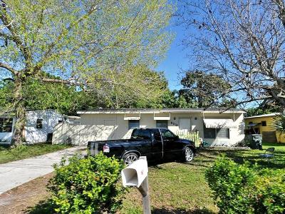 Fort Pierce Single Family Home For Sale: 608 S 25th Street