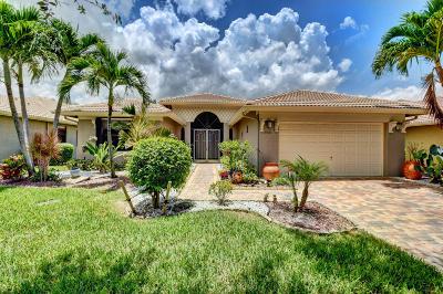 Boynton Beach Single Family Home For Sale: 7531 Via Grande
