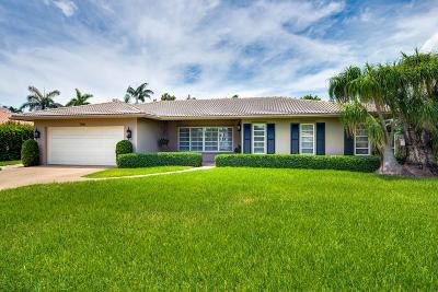 Boca Raton Single Family Home Contingent: 798 Appleby Street