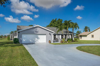 Boynton Beach Single Family Home For Sale: 4412 Caryota Drive