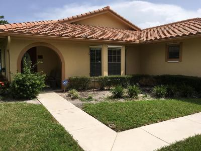 Boynton Beach Single Family Home For Sale: 5497 Helene Circle