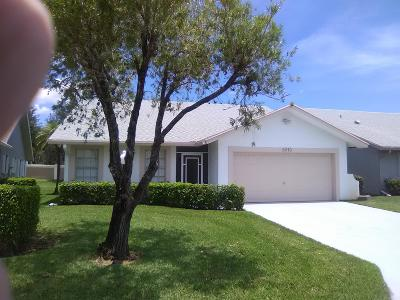 West Palm Beach Single Family Home For Sale: 5270 Tiffany Anne Circle