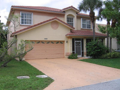 Boca Raton Single Family Home For Sale: 18128 Clear Brook Circle