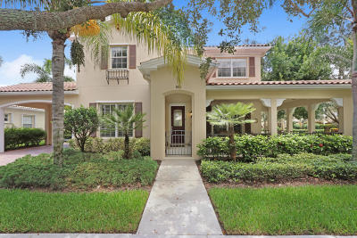 Jupiter Single Family Home For Sale: 195 San Remo Drive