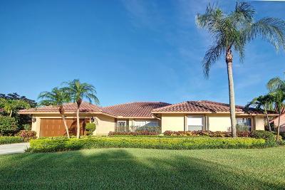 Boca Raton Single Family Home For Sale: 19505 Sedgefield Terrace