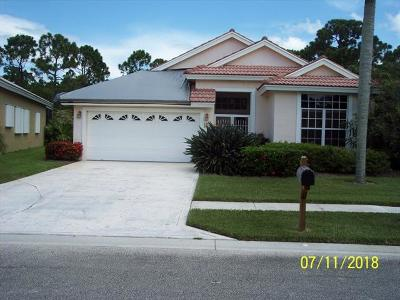 Martin County Single Family Home For Sale: 4824 SE Mariner Village Lane