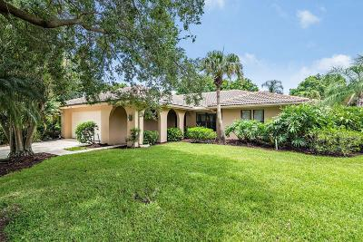 Jupiter Single Family Home For Sale: 106 Bayberry Circle